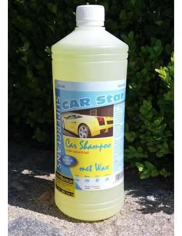 shampooing avec cire 1 litre