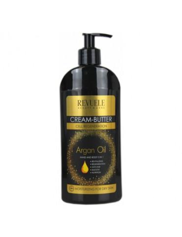 ARGAN olie HAND & BODY creme 400 ml