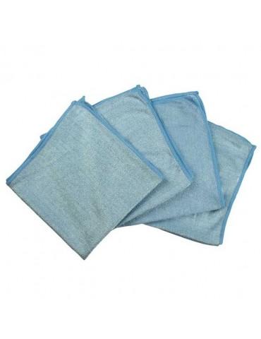 microvezeldoeken -denl- blauw- 4 stuks