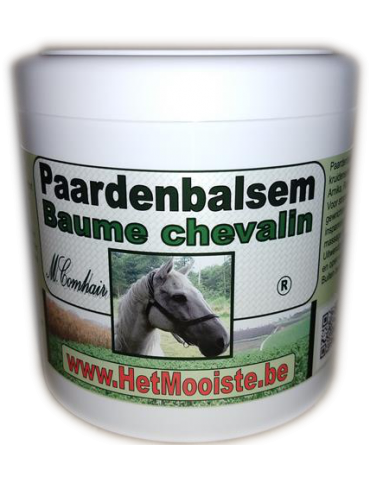 Baume Chevalin - menthol - 500ml