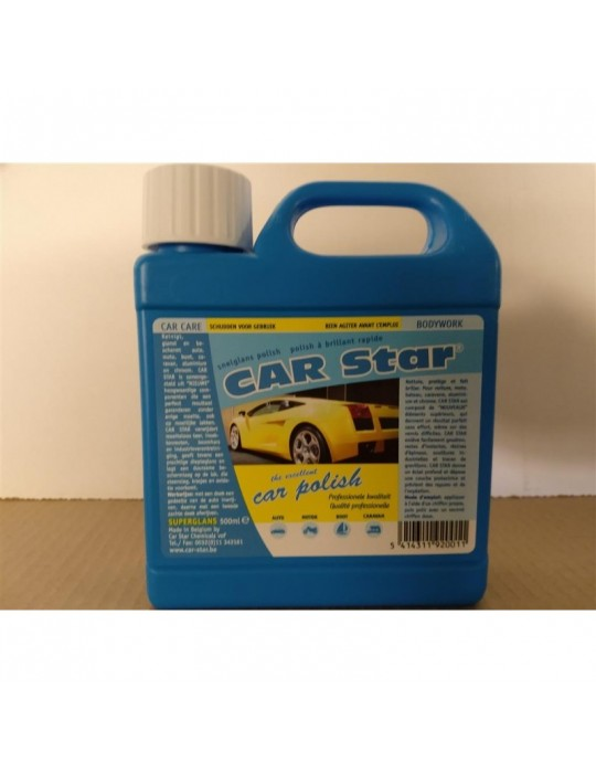 car polish car star 500 ml