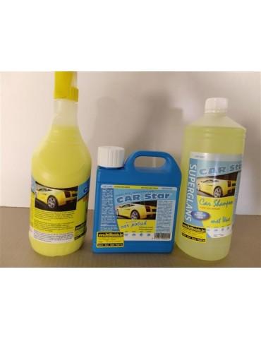 set Car Star Showroom Finish shampoo autopolish