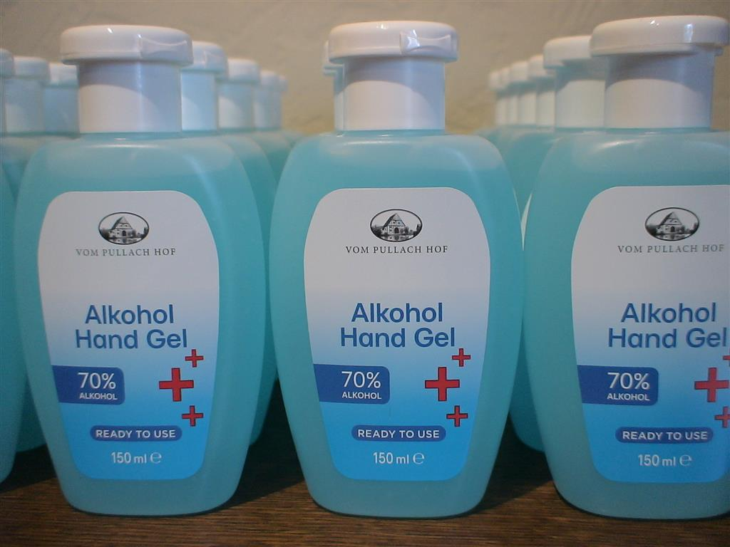 handgel alcohol 70 %